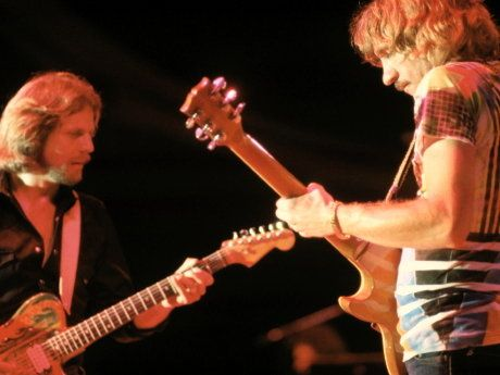 Don Felder Joe Walsh Hotel California The Most CLASSIC Dual - Musical history guitar solo