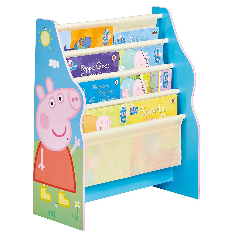 Idea: Peppa Pig Büchergestell, Holz, Blue, 17 x 17 x 17 cm in 17
