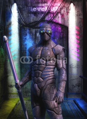 Foto: futuristic soldier special forces © innovari #34141671