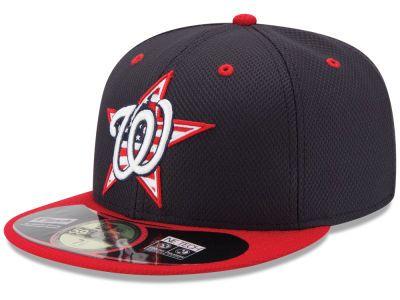 7c566f3316e Washington Nationals MLB 2014 AC July 4th Stars   Stripes 59FIFTY Cap Hats