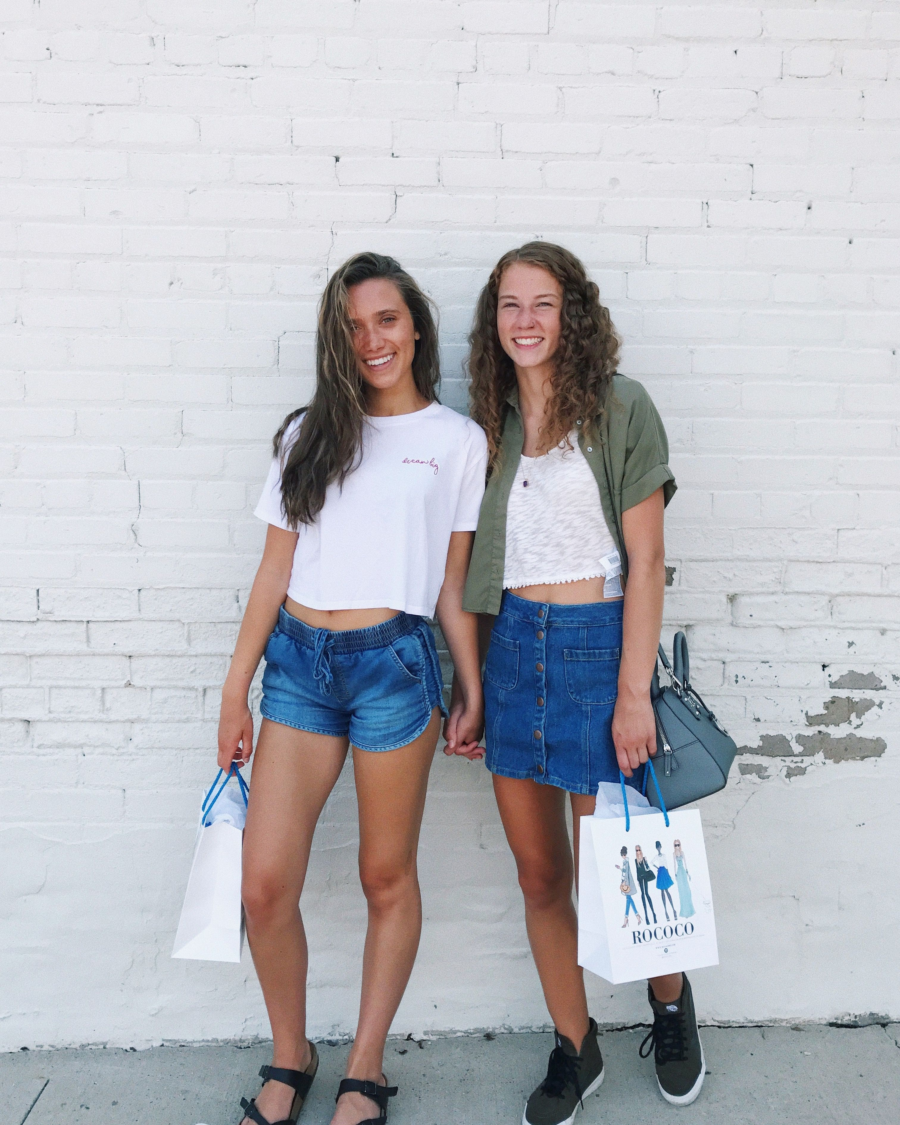 best friend shopping spree ⭐ my pic! Instagram: hannah_meloche ...