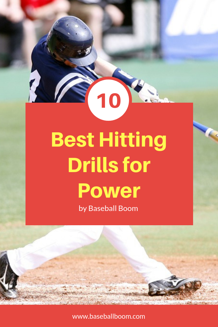 10 Best Hitting Drills For Power Baseball Workouts Baseball Hitting Baseball Drills