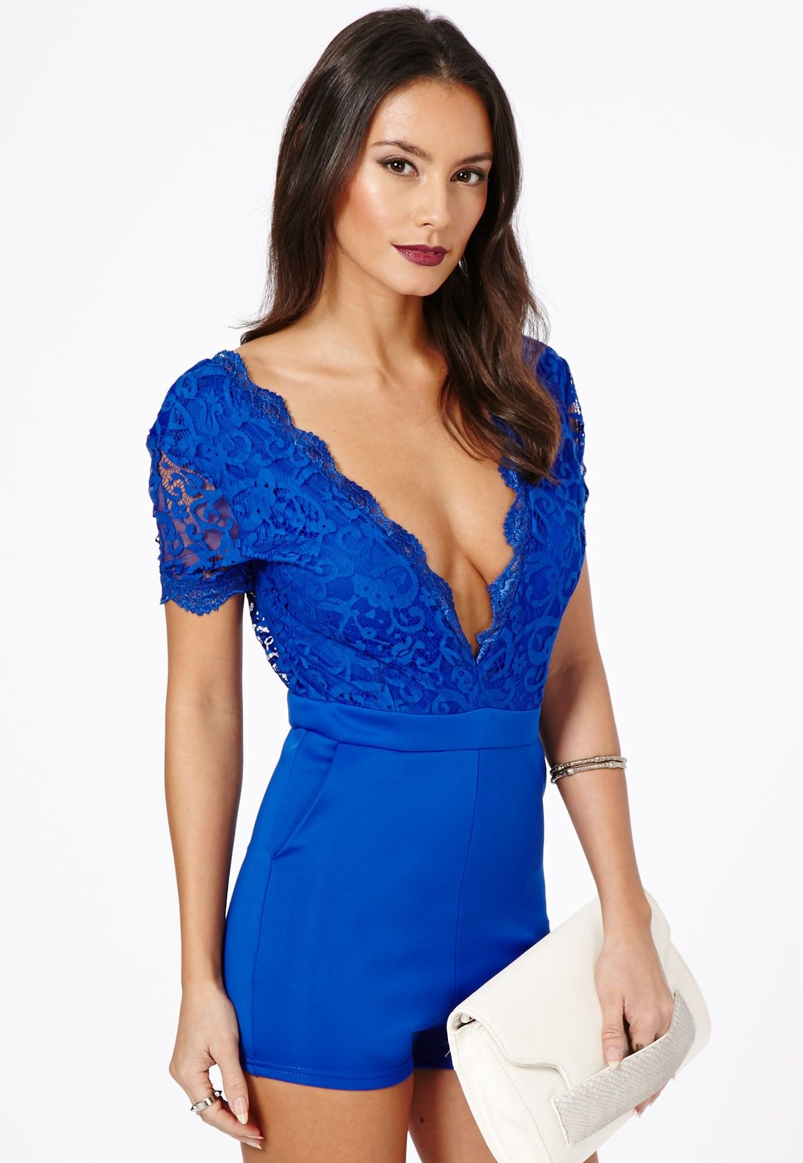 96671d8e89 💙missguided romper💙saturday sale ladies This is such a sexy romper! Uk  size 8 fits like. No trades price is firm! Belt not included Missguided  Dresses