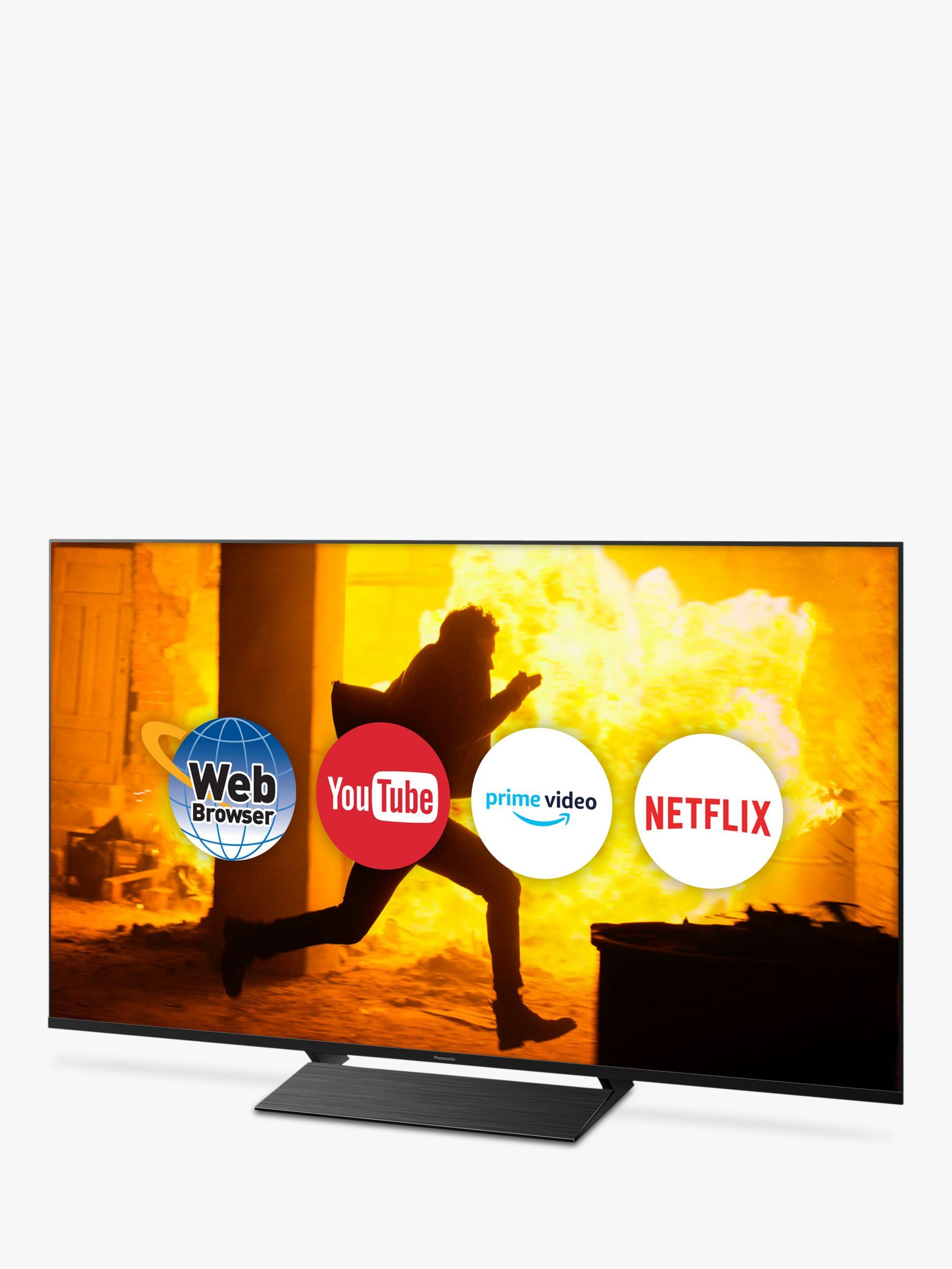 Panasonic Tx 65gx800b 2019 Led Hdr 4k Ultra Hd Smart Tv 65 With Freeview Play Graphite Black Dolby Atmos Smart Tv Panasonic Tvs
