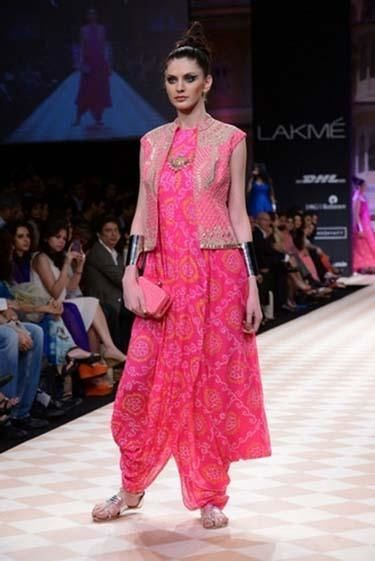 16c07f5f33 Bandhani Dress by Anita Dongre   Jivaana.com   Fashion - Indo ...
