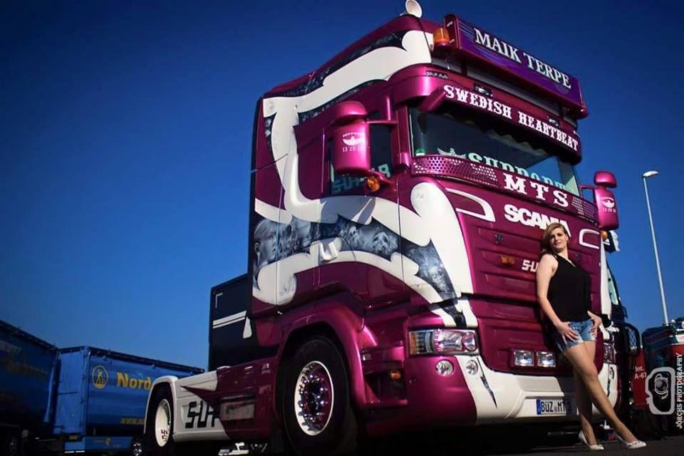 Scania -  trucK, GIRLS