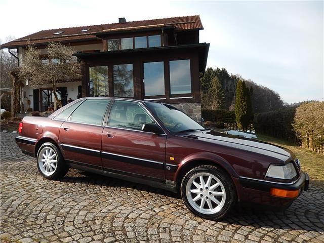 Audi V8 1.Hd Scheckheft Tüv ZR neu!