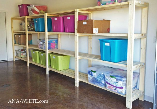 Weekend Projects 5 Diy Ways To Set Up Garage Shelves Diy Garage