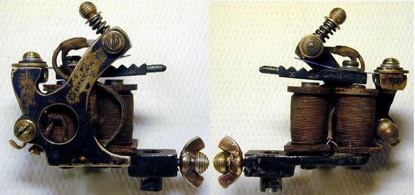 J Walker Liner Bernhards Master Liner Paul Roger S Iron Liner Tattoo Tattoo Machine Ink Master Iron Factory Mad Bee T Bee Tattoo Ink Master Tattoo Machine
