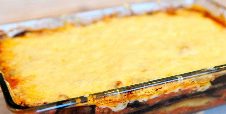 Lasagne van aubergine - Voedzaam en Snel