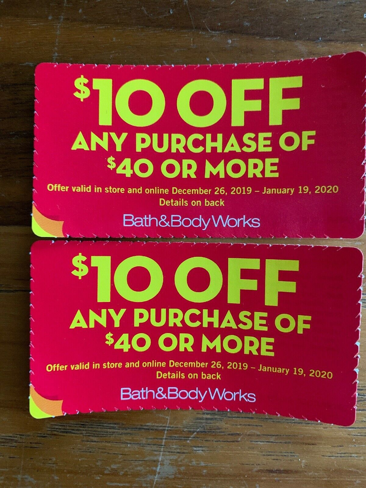 2 Bath And Body Works Coupons 10 Off 40 Or More Semi Annual Sale Bath And Body Works Body Works Bath And Body