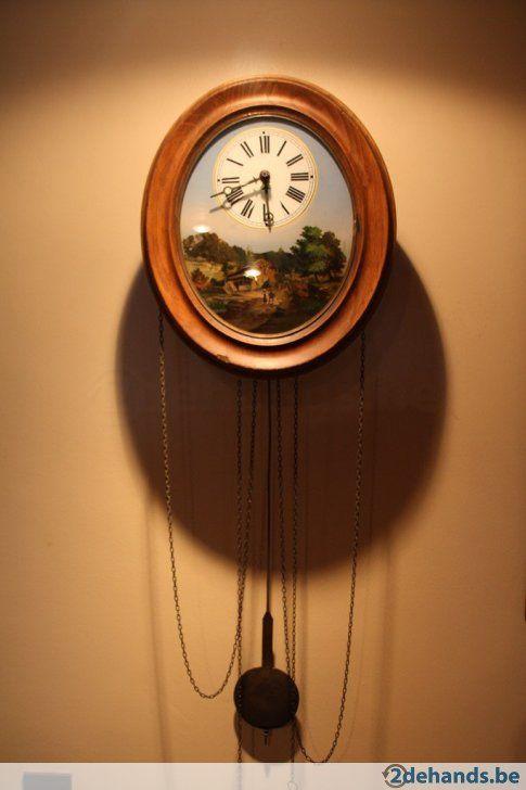 ddf20cbe2496 Foret Noir   Zwarte woud antieke wandklok   наст. классика часы ...