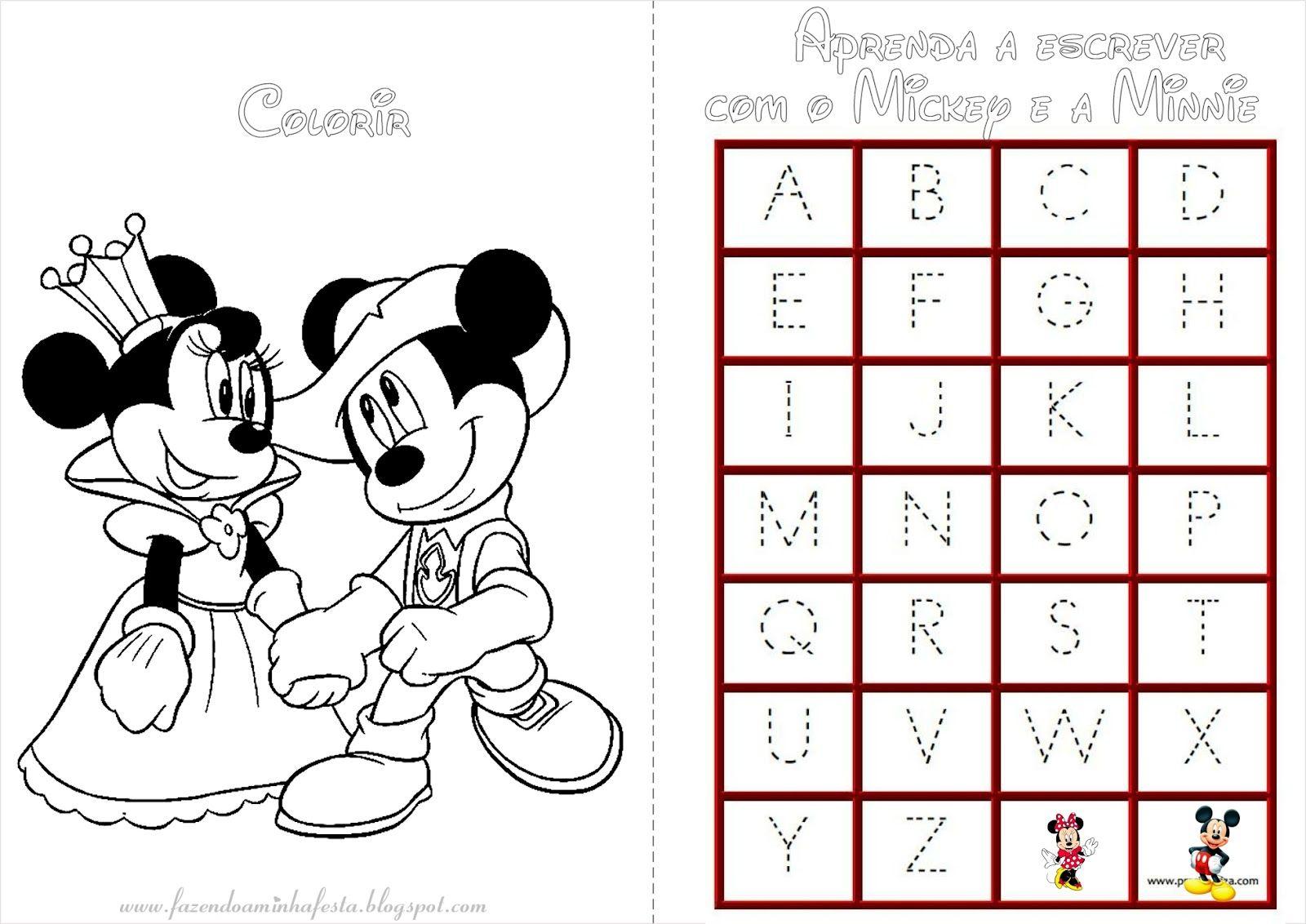Pin De Fernanda Cavati Em Festa Mickey Em 2019