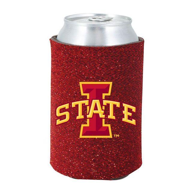 Kolder NCAA Auburn Glitter Bottle Coolie One Size Multicolor