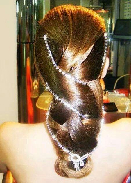 Peinado muy lindo
