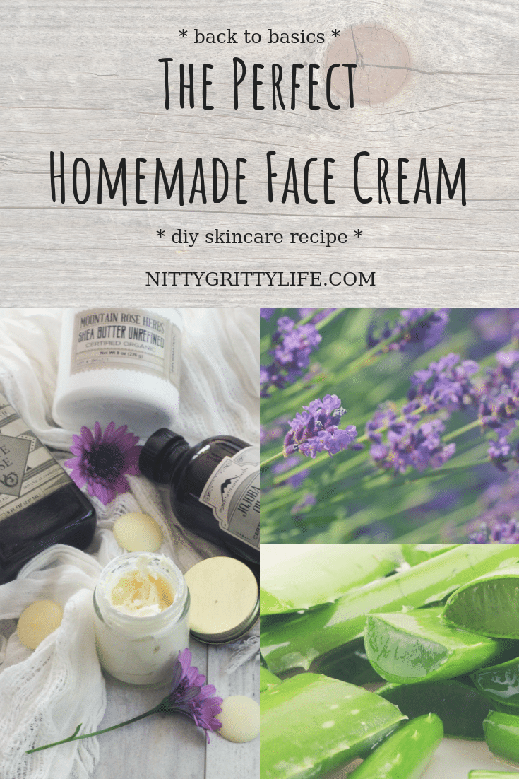 Back to Basics: The Perfect Homemade Face Cream for Any Skin Type #homemadefacelotion