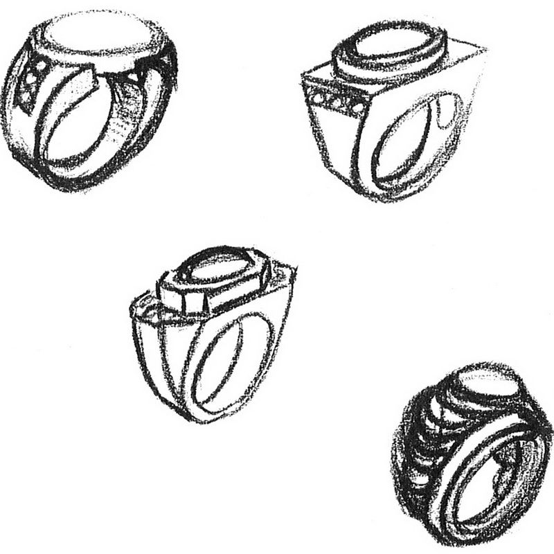jewelry design drawing jd150 perspective drawing the drawing
