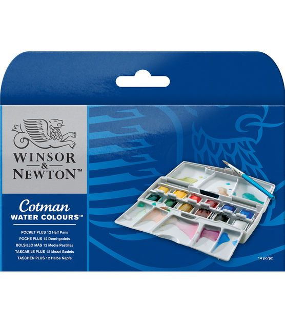 Winsor Newton Cotman Watercolor Pocket Set In 2020 Oil