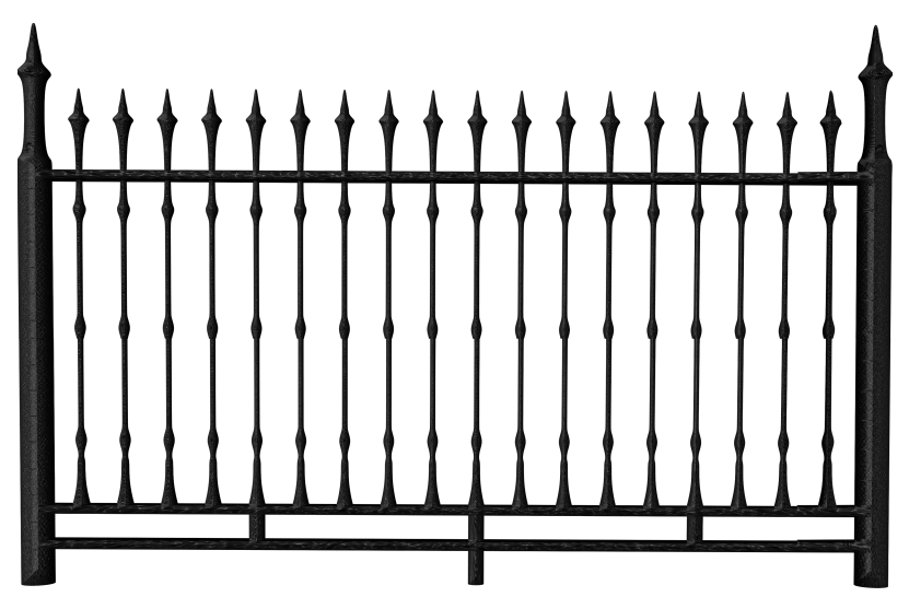 transparent black iron fence png clipart dream home