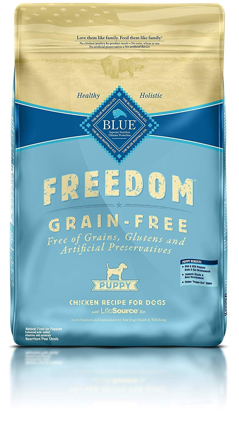 Blue Freedom Grain Free Puppy Dry Dog Food Click On The Image