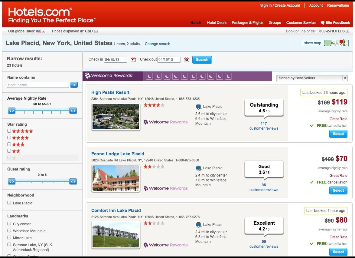 Scrape Data from Hotelpronto, Expedia & Tripadvisor, Website