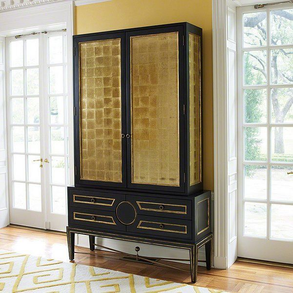Views Collector\'s Cabinet-Black - Global Views 2446