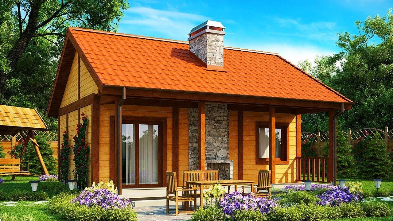 Most Beautiful Fast And Cheap To Build Z42 Small House For The Plot Small House Beautiful Small Homes House Plans With Pictures