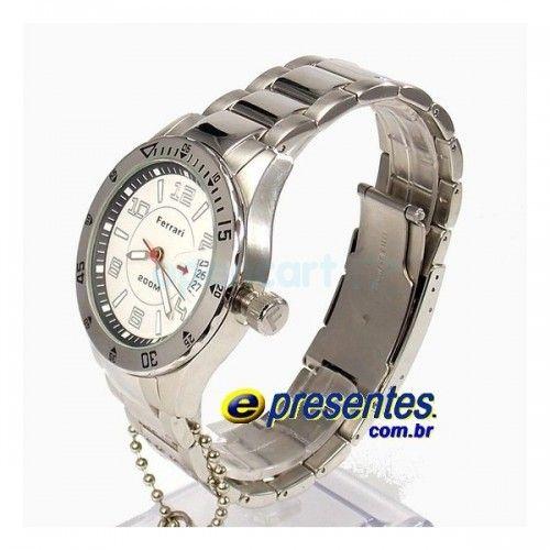 c1c0c842dc2 FA001-B Relógio de Pulso Ferrari Masculino