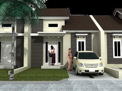 Desain Rumah Minimalis Type   Lantai Tampak Depan Terbaru Ingin Tahu Rumah Minimalis Type