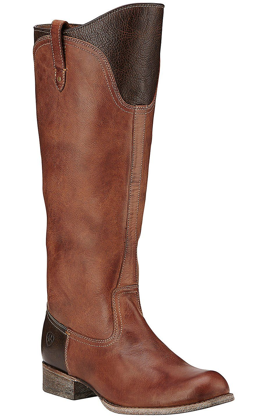 Ariat Paragon Women's Chai & Wicker Tall Round Toe Boots ...