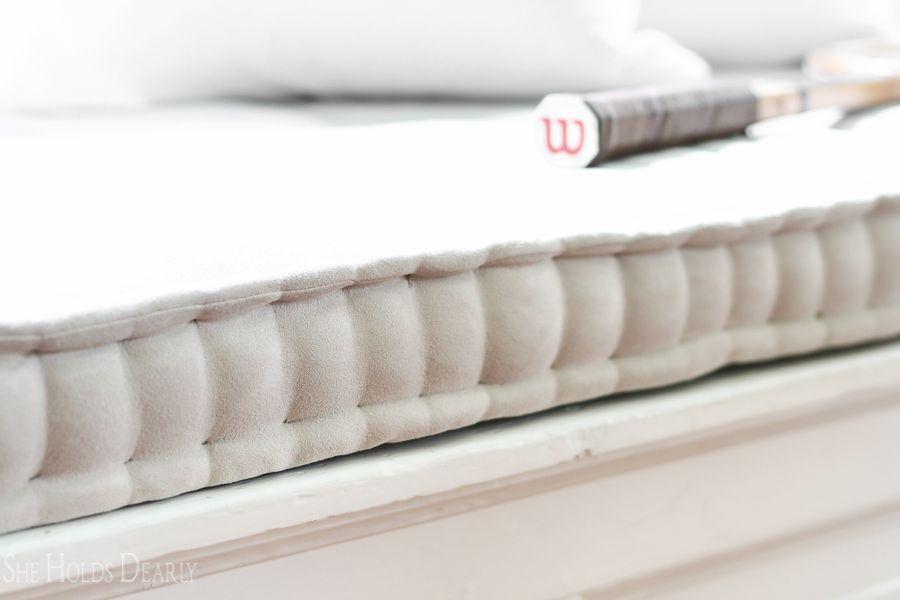 French Mattress Cushion Tutorial Pillow Talk Cushion Tutorial