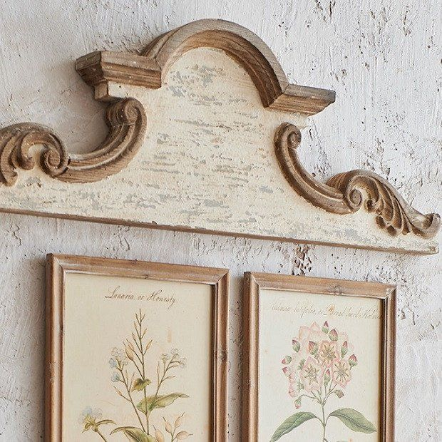 Shabby Chic Arched Wood Wall Decor Shabby Chic Wall Decor Shabby Chic Homes Shabby Chic Decor
