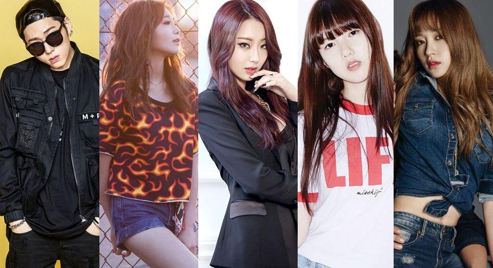 Netizens List The Most And Least Popular Members Of K Pop Idol Groups Pop Idol Kpop Idol Kpop