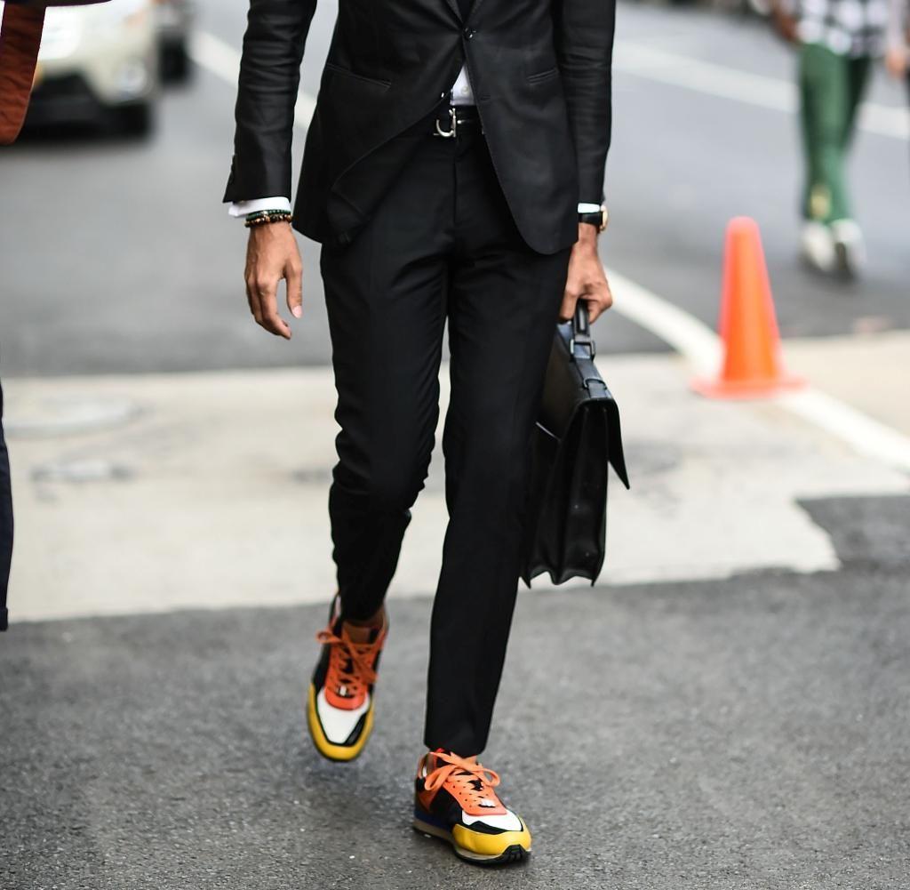Bildergebnis für anzug + sneaker | style | Männer mode, Mode