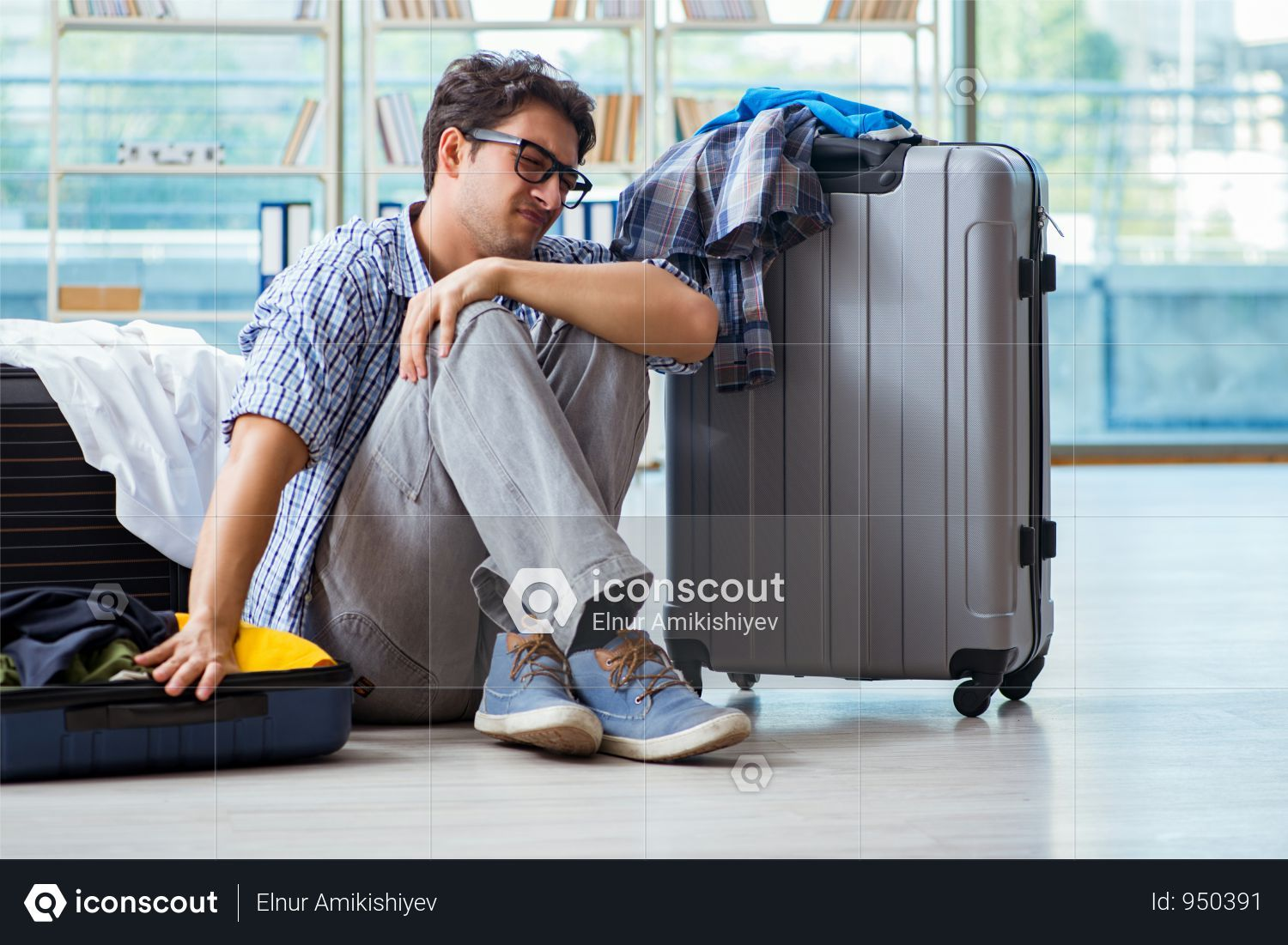 Premium Young Man Preparing For Vacation Travel Photo Download In Png Jpg Format Vacation Trips Travel Photos Vacation Photos