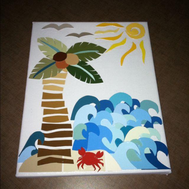 Paint Samples Art Project