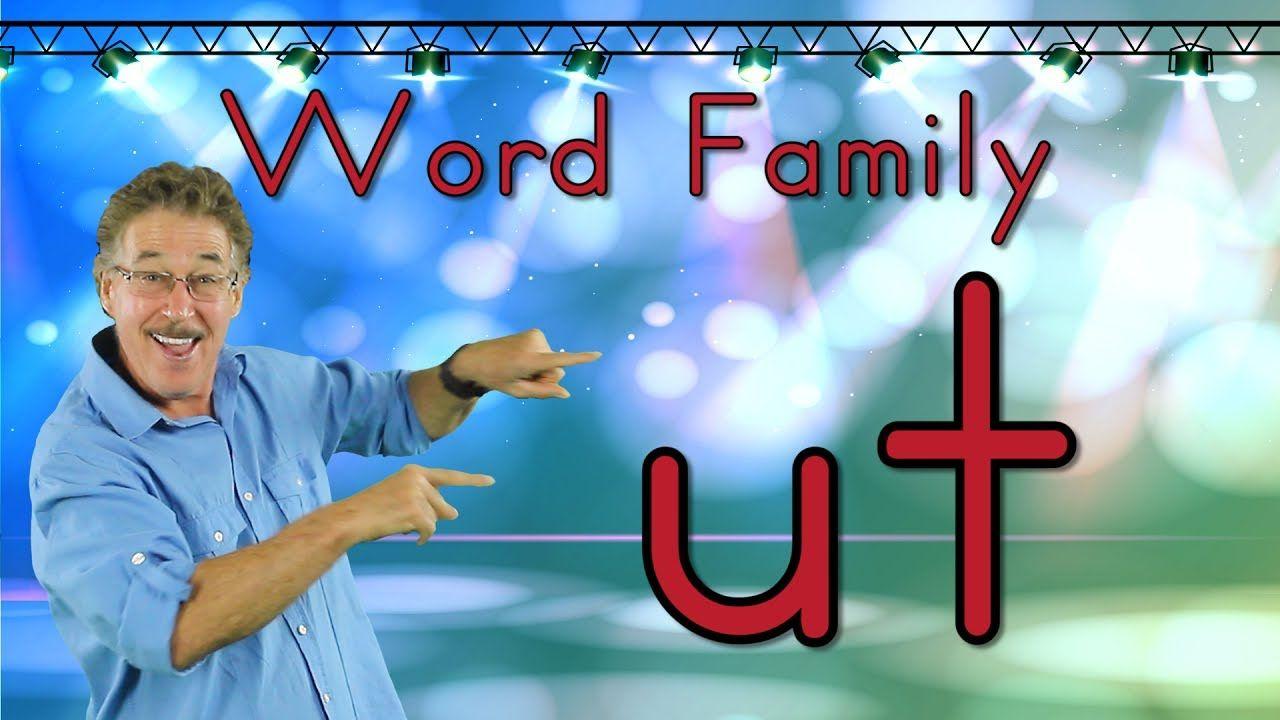 Word Family Ut Phonics Song For Kids Jack Hartmann Youtube Word Families Phonics Song Teaching Videos [ 720 x 1280 Pixel ]