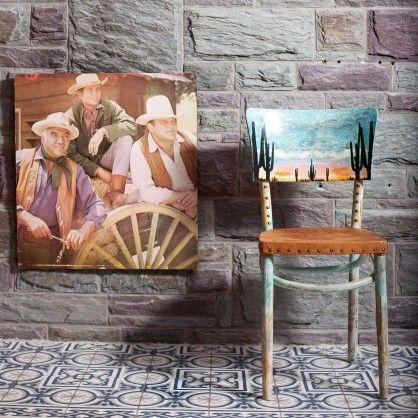 30er jahre Caféhaus-Stuhl upcycled von Cambio Kunstmöbel - qip home