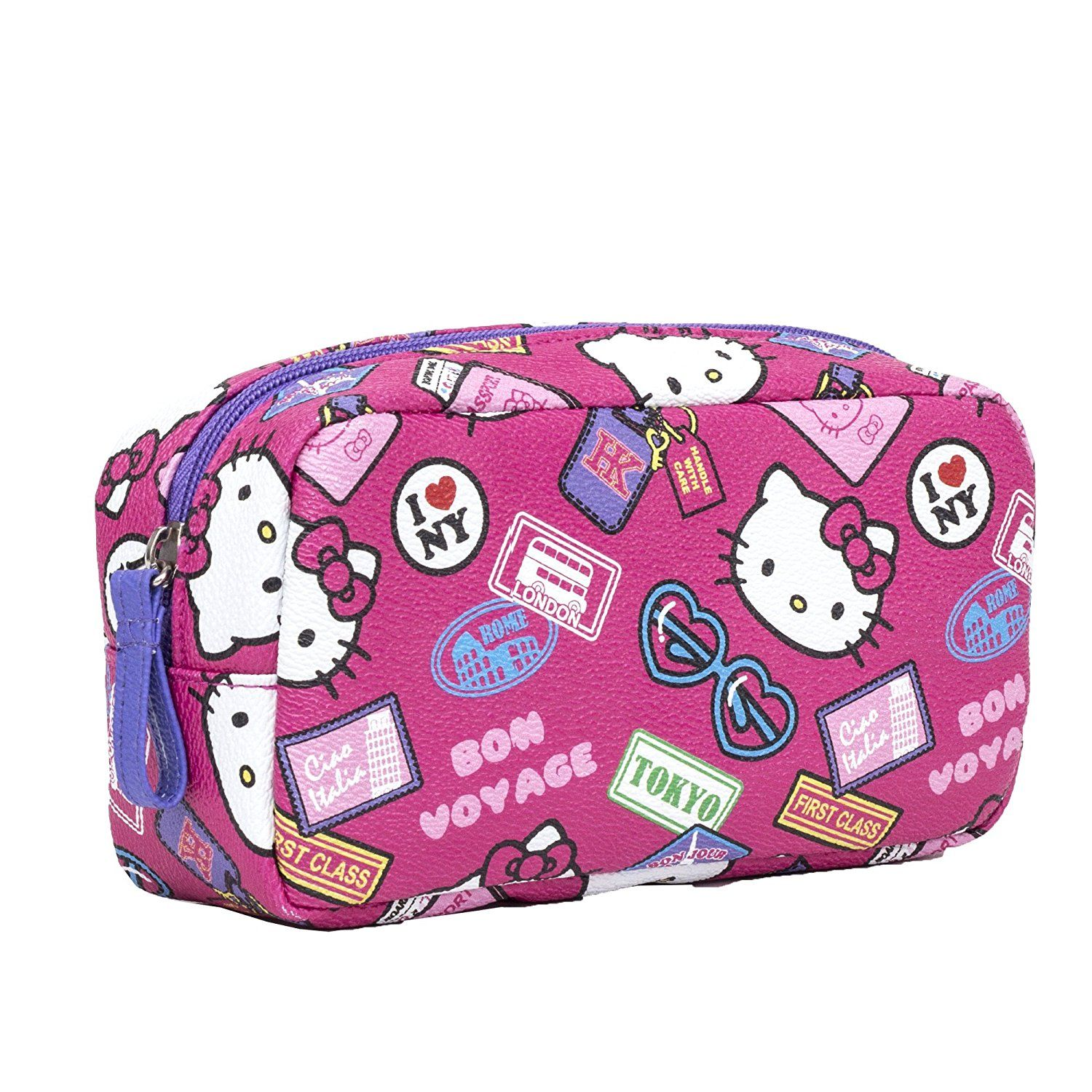 Official brand new sanrio hello kitty bon voyage cosmetic pouch one size  jpg 1500x1500 Bon voyage 36004d53ad