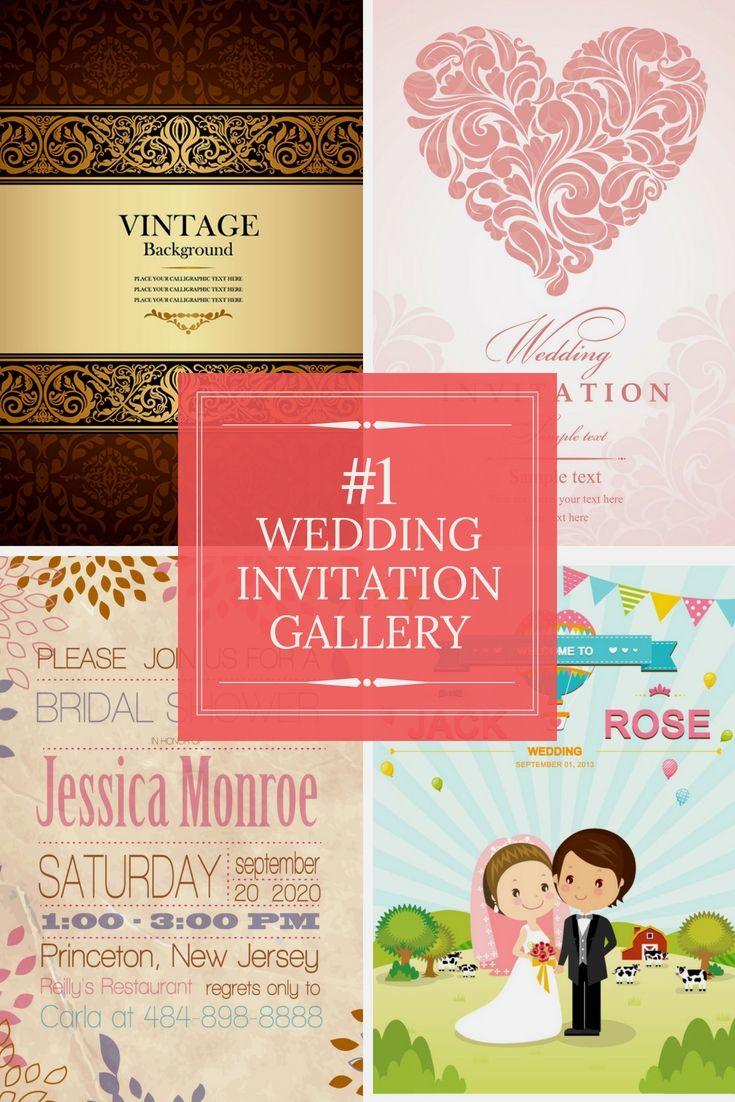Completely Free Wedding Invitation Cards Illustrations - Begin ...