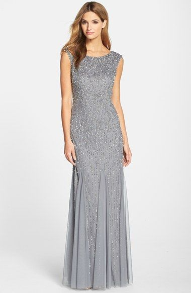 Silver Or Gray Mother Of The Bride Dresses Mother Of The