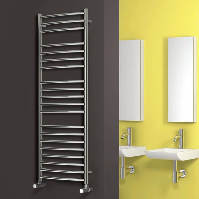 Reina Eos Stainless Steel Designer Towel Rail Towel Rail Stainless Steel Radiators Bathroom Towel Radiators