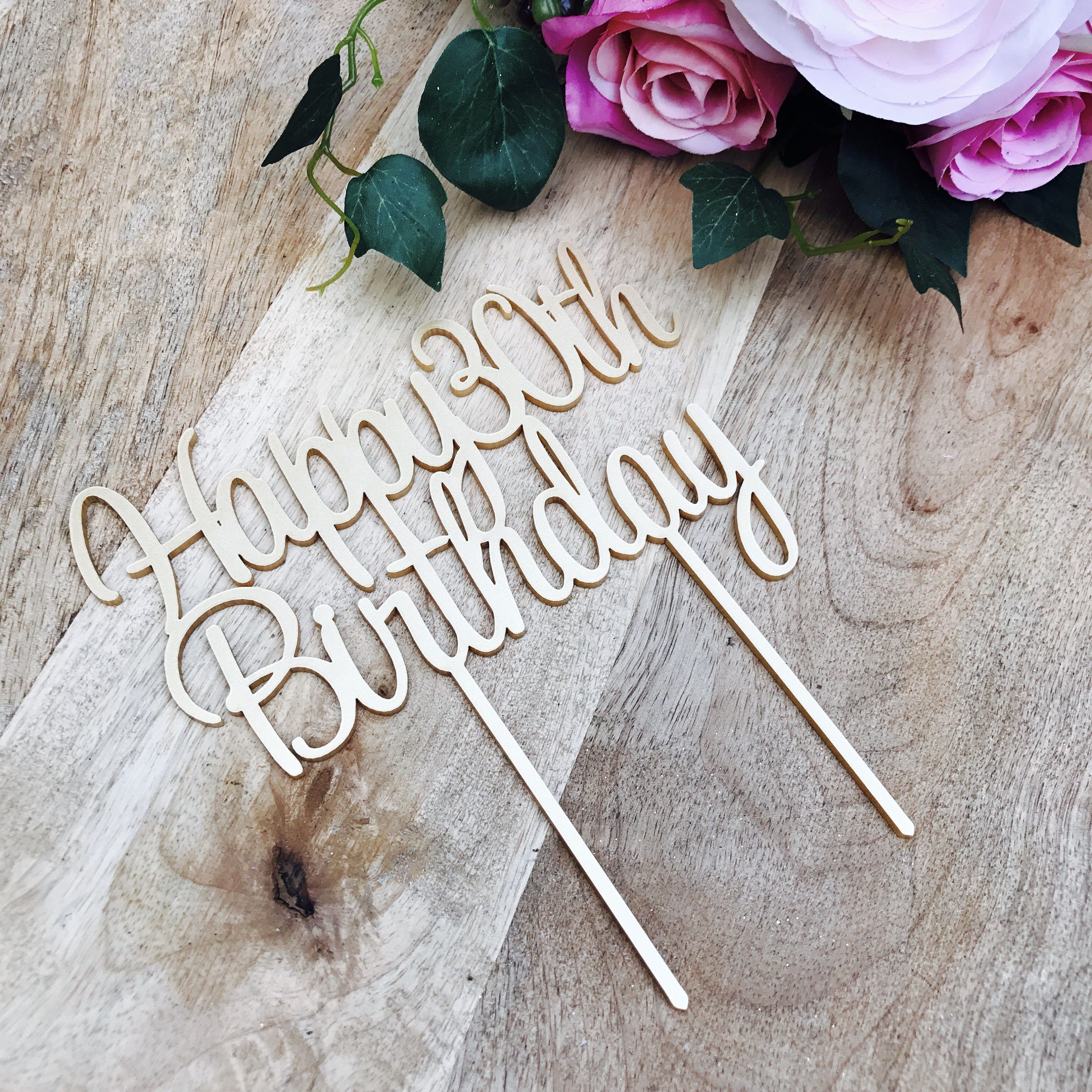 47++ 30th birthday cake toppers for her ideas in 2021