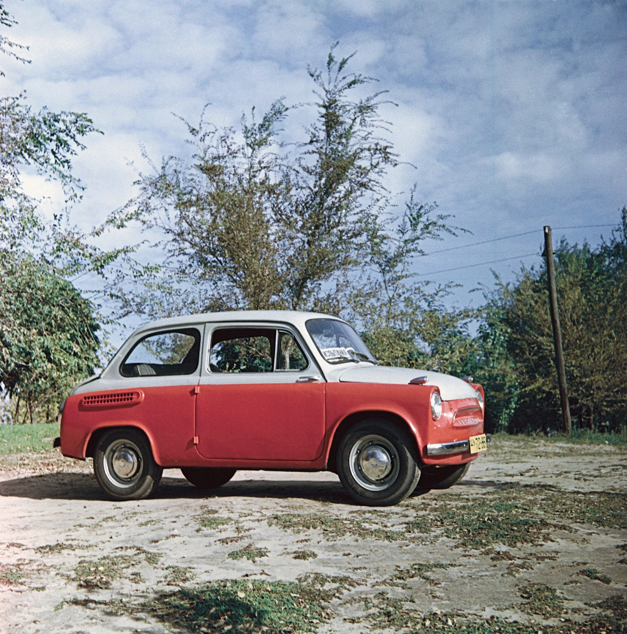 The first cars in Russia