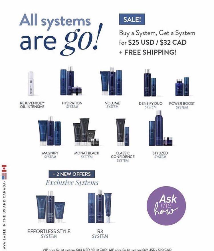 Flash Sale This Weekend Purchase Any System At Regular Price And Add Any System For Just 25usd We Ve Never Monat Monat Black Life Changing Opportunity