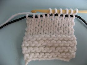 Hook Knitting Patterns : Knooking new knitting technique using a modified crochet hook