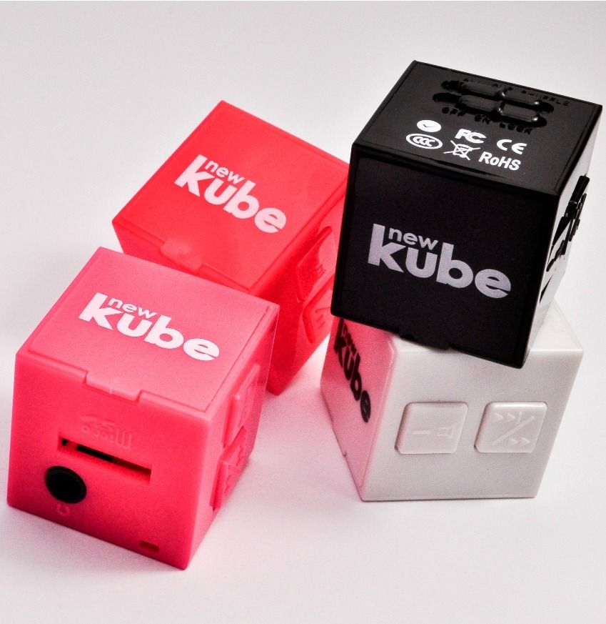 Kube SH2045-BLK-LG Bluetooth Speaker