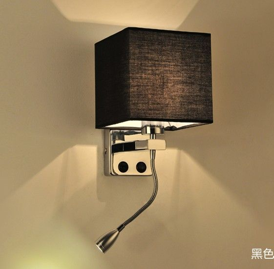 Simple creative fabric wall sconce band switch modern led wall light simple creative fabric wall sconce band switch modern led wall light fixtures for bedroom wall lamp aloadofball Images
