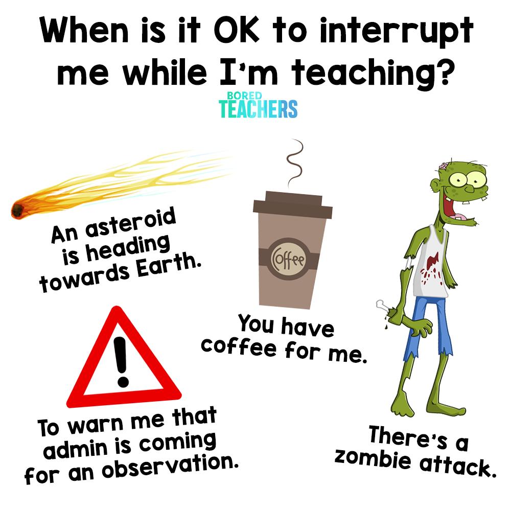 Bored Teachers on Twitter