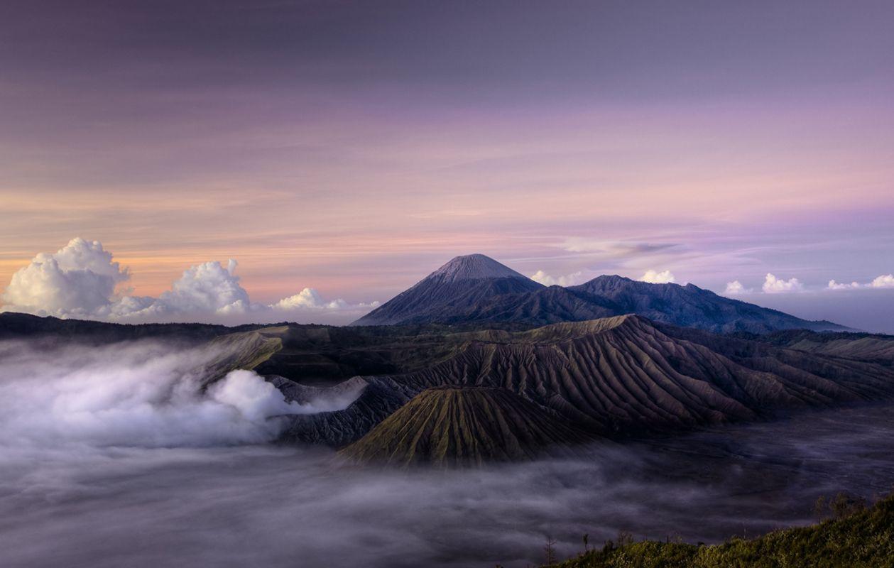 Monte Bromo, en Indonesia
